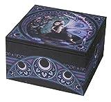 Anne Stokes Jewlery Box, 4''x4''x2-1/4 - 'Naiad'