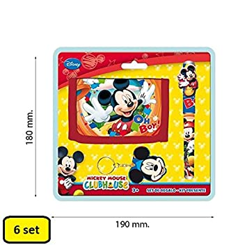 Partylandia Shop Box con 6 Juego de Mickey Mouse Cartera ...
