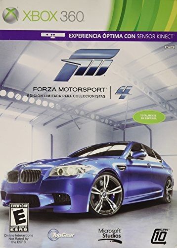 Forza Motorsport 4 Limited Collector's Edition (English/Spanish Version) by Microsoft