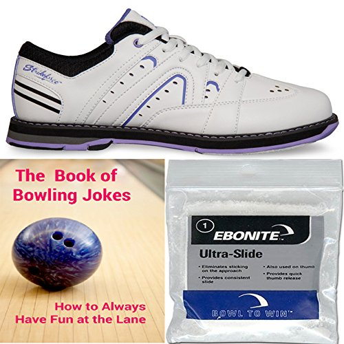 kr-strikeforce-womens-quest-bowling-shoes-white-purple-ebonite-ultra-slide-powder-and-the-book-of-bo
