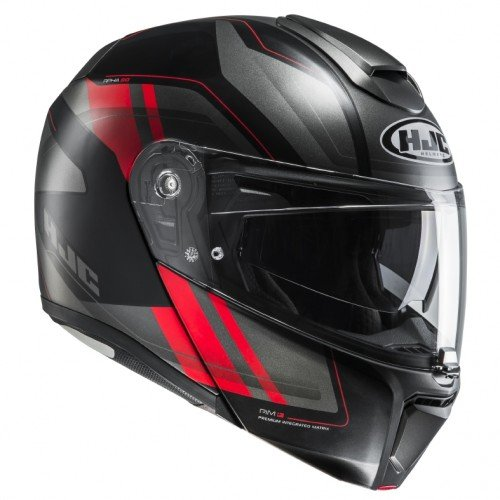 Size M Black//Red HJC RPHA 70 GRANDAL MC1SF Motorcycle Helmet