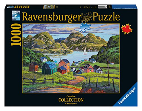 Ravensburger A Lake in Charlevoix Canadian Collection Canadienne 1000 Piece Jigsaw Puzzle for Adults – Every piece is unique, Softclick technology Means Pieces Fit Together Perfectly