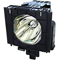 PTDW5100U Panasonic Twin-Pack Projector Lamp Replacement. Projector Lamp Assembly with Genuine Original Ushio Bulb Inside.