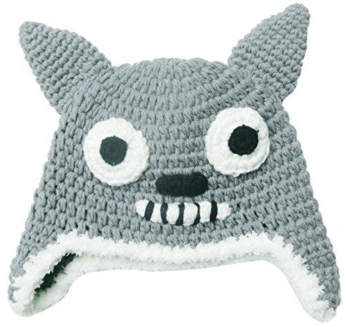 Infants Toddlers Knitted Crochet Cartoon Animal Totoro Cat Hat Beanie (International Dress Up Ideas)