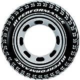 Intex - 59252NP - Jeu de Plein Air - Bouée Pneu Noire- 91 cm