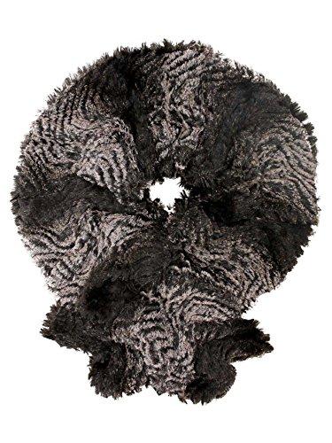 Brown Gradient Plush Faux Fur Scarf Plush Of Month Club