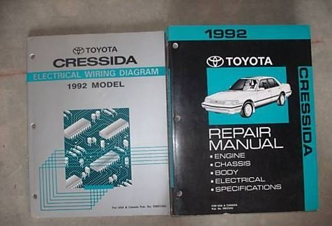 (1992 Toyota Cressida Service Shop Repair Workshop Manual Set W EWD OEM FACTORY)