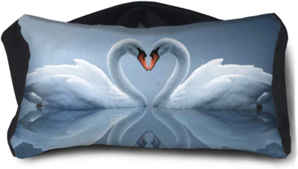 Mochila Pequeño y liviano Amor Entre pájaros Dos cisnes Blancos Lago Fondo de Pantalla HD Unisex Mochilas Escolares Multiusos Talla única para Aviones Familiares Viaje de Oficina