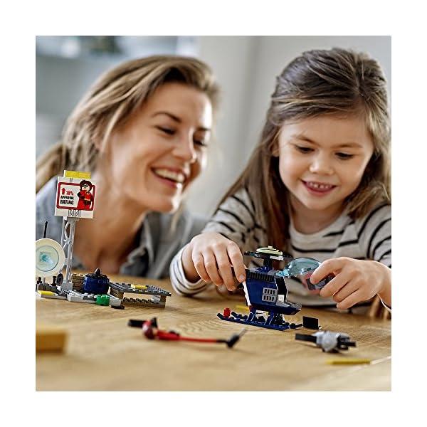 51dujMj9JlL LEGO Juniors/4+ The Incredibles 2 Elastigirl's Rooftop Pursuit 10759 Building Kit (95 Piece)