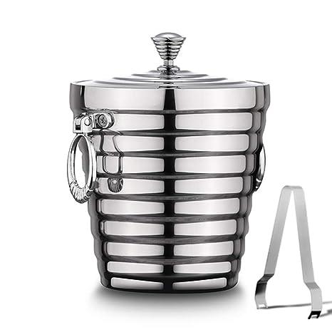 Amazon.com: Zhong$chuang cubitos de hielo, acero inoxidable ...