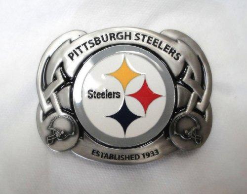 Buckle Steelers (The PITTSBURGH STEELERS NFL FOOTBALL TEAM BELT BUCKLE BY SISKIYOU)