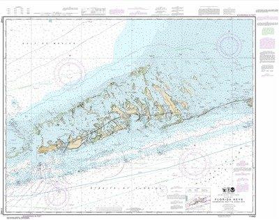Synthetic Media NOAA Chart 11442: Florida Keys Sombrero Key to Sand (Florida Keys Water)