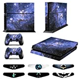 Skins for PS4 Controller – Decals for Playstation 4 Games – Stickers Cover for PS4 Console Sony Playstation Four Accessories PS4 Faceplate with Dualshock 4 Two Controllers Skin -Purple Review