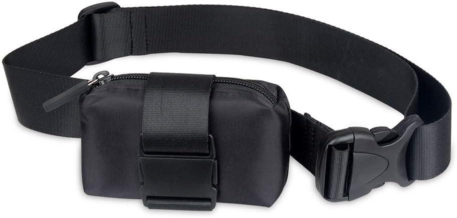 Gexgune Collar GPS Collar Negro para Mascotas para Vacas Perros Grandes Caballos Cerdos Bolsa Impermeable Collar con rastreador GPS Inteligente (sin GPS Incluido)