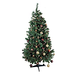 Homegear Deluxe 6ft 700/1000 Tips Artificial Xmas/Christmas Tree 6