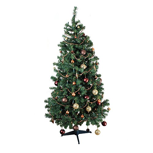 homegear deluxe alpine 6ft 700 tips xmas / christmas tree