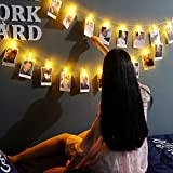 Shimmer Forest 35LED Photo Clips String Lights 16.4 Feet, USB Powered, ...