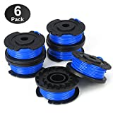 YWTESCH Single Line String Trimmer Replacement Spool 0.065-Inch for Greenworks String Trimmer, 6 Packs