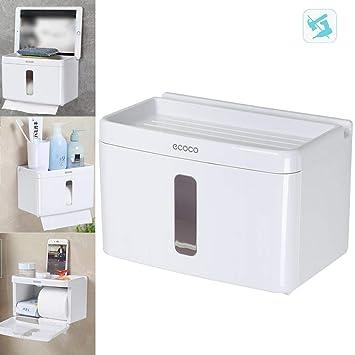 AOLVO Selbstklebende WC-Rolle Halter, Wandhalterung WC-Papier ...