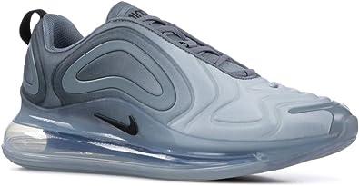 Nike Men's Air Max 720 Shoes (12, AnthBlackMet Silver)