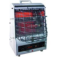 TPI Corporation 198TMC Fan Forced Portable Heater – Radiant, 1500/900/600W, 120V, Corrosion Resistant Winter Heating Equipment. Heating Devices