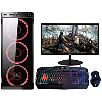 "YEYIAN Computadora Gamer Ragnar, AMD Ryzen 3 3200G, 8GB, 1TB, AMD Radeon Vega 8, Teclado RGB, Mouse, Monitor 19.5"" (YEAR31Q20)"