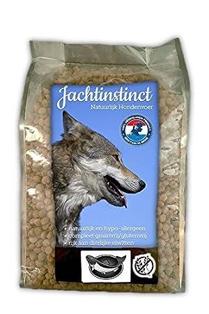 Caza Instinct comida seca para perros: libre de grano de salmón, prensado en frío