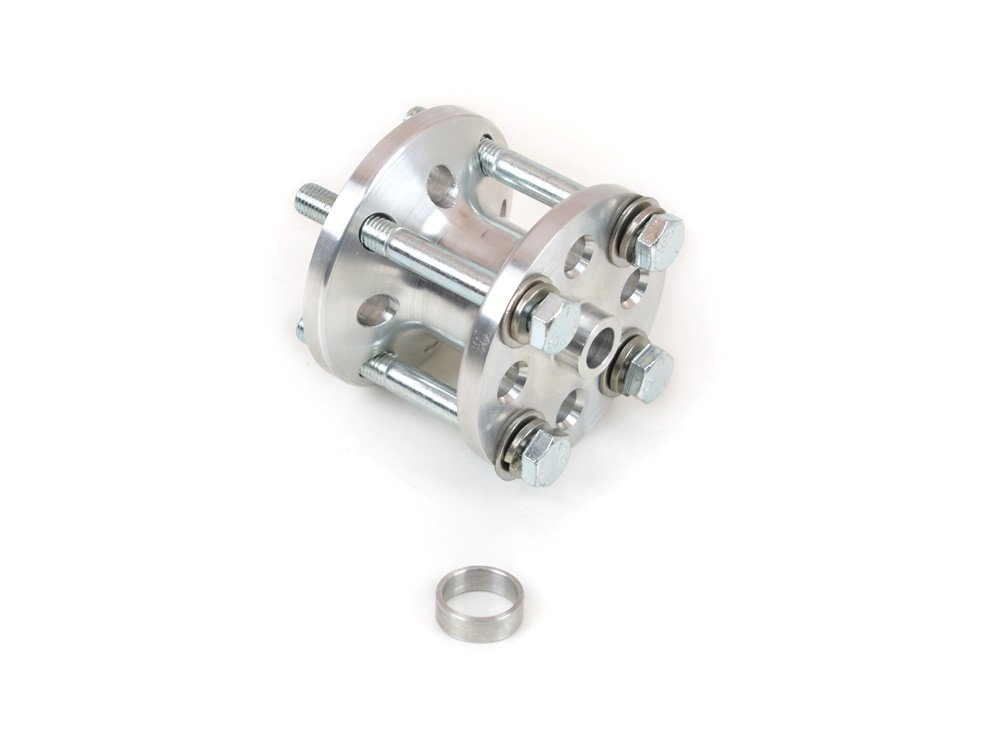 Canton Racing 75-620 2'' Fan Spacer Billet Aluminum with Bolts for Chevy and Ford by Canton Racing Products