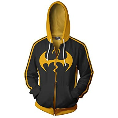 Xinxin Iron Fist Iron Fist Anime 3D Cosplay Cardigan Zip Hoodie Unisex  Adult at Amazon Women s Clothing store  e629f6e2da