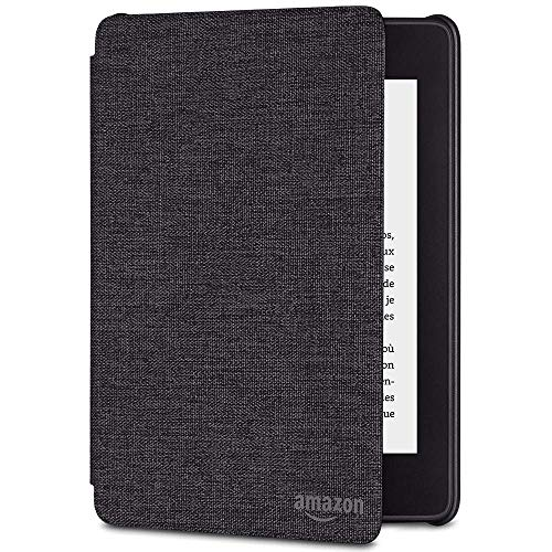Amazon Kindle Paperwhite Water-Safe Fabric Cover (10th Generation – 2018 Release), Charcoal black