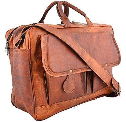 Shakun Leather Bolsa de mensajero Piel, maletín, bolsa para ordenador portatil