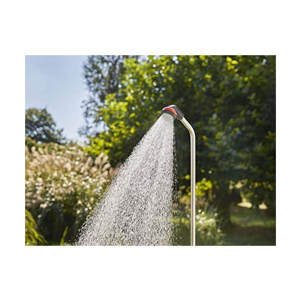 Doccia da giardino GARDENA solo: Doccia con getto a pioggia, quantità d'acqua regolabile sino alla chiusura, con… 2 spesavip