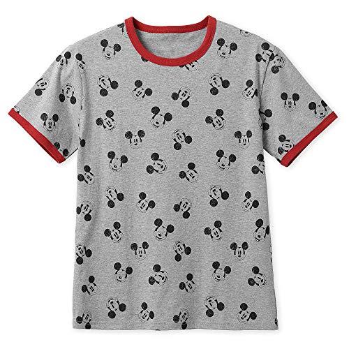 Disney Mickey Mouse Allover Ringer T-Shirt for Men