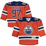 Connor McDavid Edmonton Oilers Orange Toddler 2T-4T Reebok Alternate Replica Jersey