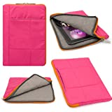 quilted case ipad air - VG Pillow Quilted Nylon Sleeve for Apple iPad Air 2 9.7-inch Tablets (Pink)