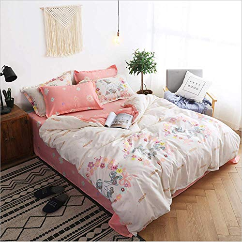 Bedding Set Bedspread Duvet Cover Double Bed Sheets Linens Queen King Adult E 200x230cm