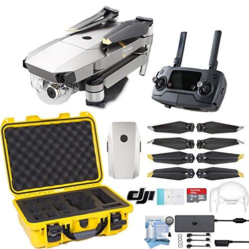 DJI Mavic Pro Platinum Drone with Custom Nanuk Waterproof Hard Case (Yellow)