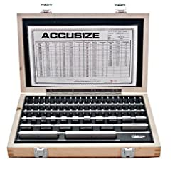 Accusize Industrial Tools 81 Pcs Steel G...