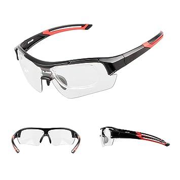 LYY Gafas de Cambio de Color Inteligentes, Gafas de Sol polarizadas a Prueba de Viento