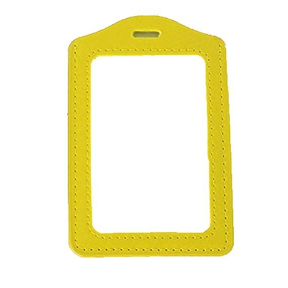 Amazon.com: Tarjeta de Identificación Nombre Badge Holder ...
