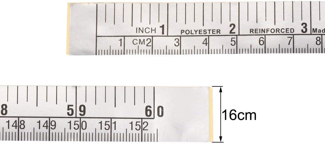 Sourcing Map M/ètre ruban adh/ésif 152 cm