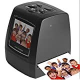Film Scanner 5MP/ 10MP 35mm Film Negatives and Slide Scanner, Convert To Digital Photos Support SD Card