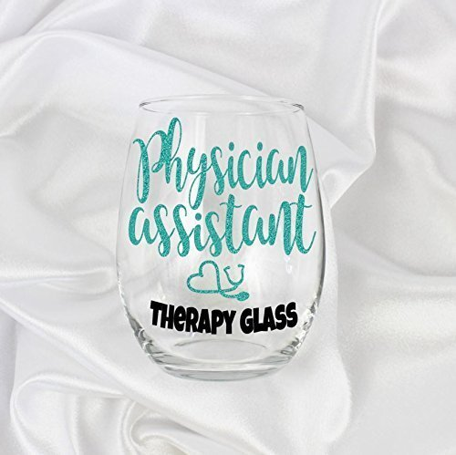 (physician assistant gifts for her PA 20oz stemless wine glass 0022)