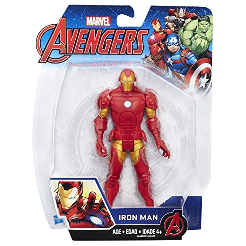 Marvel Avengers Iron Man 6-in Basic Action Figure - http://coolthings.us