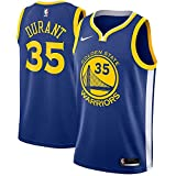 Nike Kevin Durant Golden State Warriors NBA Youth 8-20 Royal Blue Road Icon Edition Swingman Jersey (Youth Medium 10-12)
