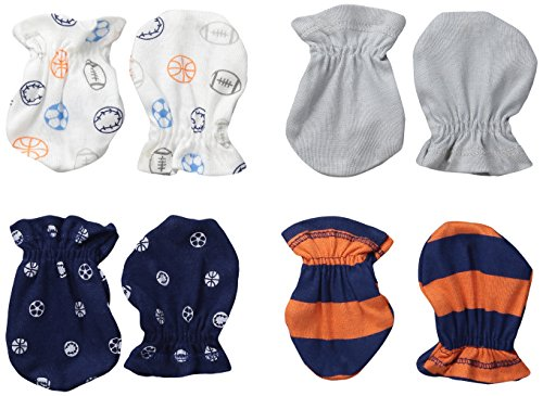 gerber-baby-boys-mittens-sports-0-3-months-pack-of-4