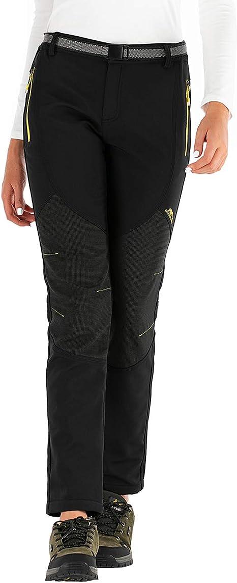 BenBoy Pantalones Monta/ña Ni/ño Pantalones de Nieve Impermeables Invierno Calentar Ni/ñas Ni/ños Pantalones Trekking Escalada