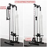 Valor Fitness BD-62 Wall Mount Cable Station with