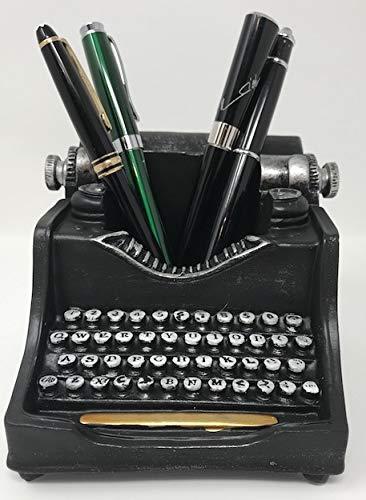 (Retro/Shabby Chic/Vintage Pencil Holder for Desk/Desk Organizer for Writer's Desk (Typewriter))