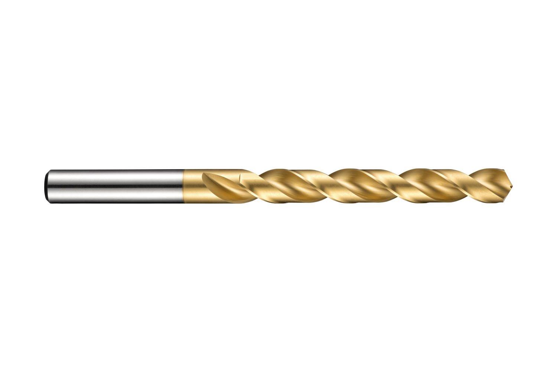 Dormer A002 HSS High Speed Steel Jobber Drill Bit with 118 Degree Tin Tipped Split Point Pack of 10pcs